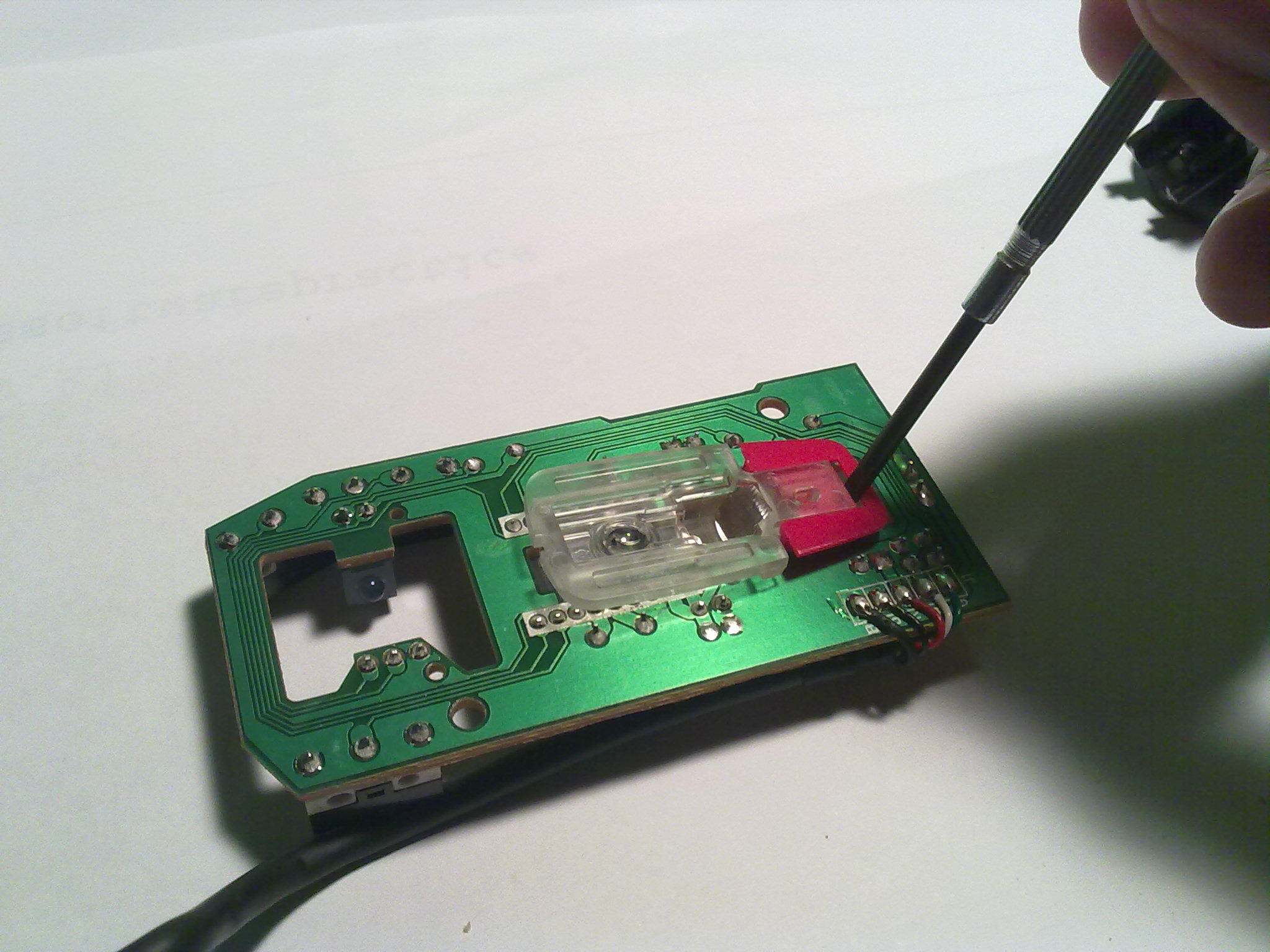 Small Led Circuit Board Hacked Gadgets Diy Tech Blog