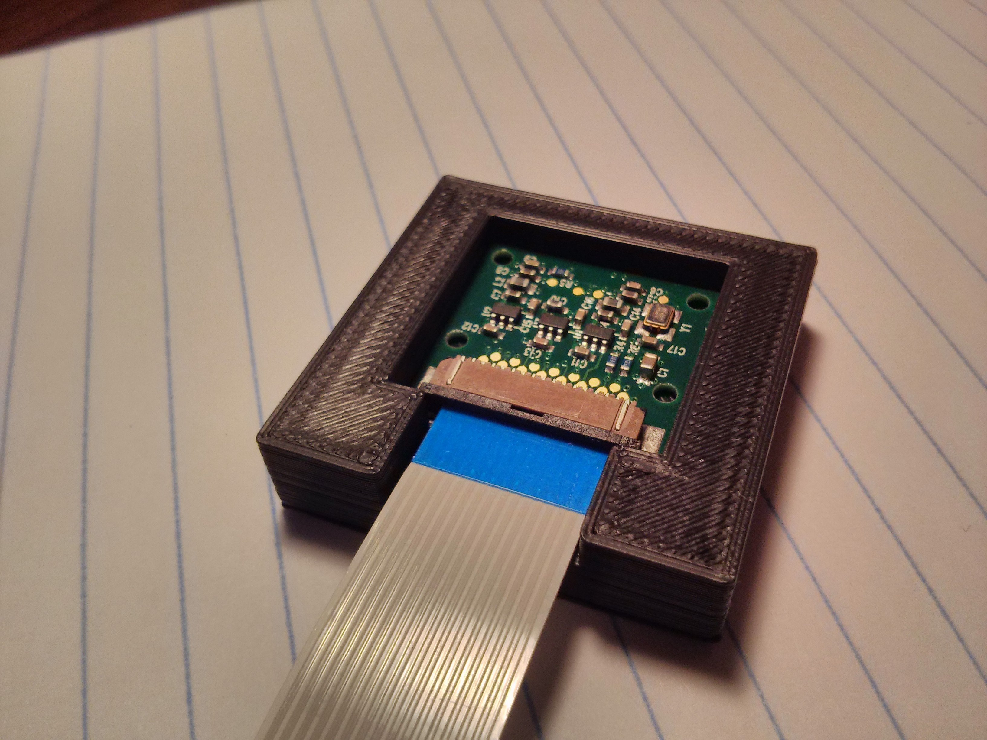 3D Printing Adapter to fit Raspberry Pi Camera to Microscope